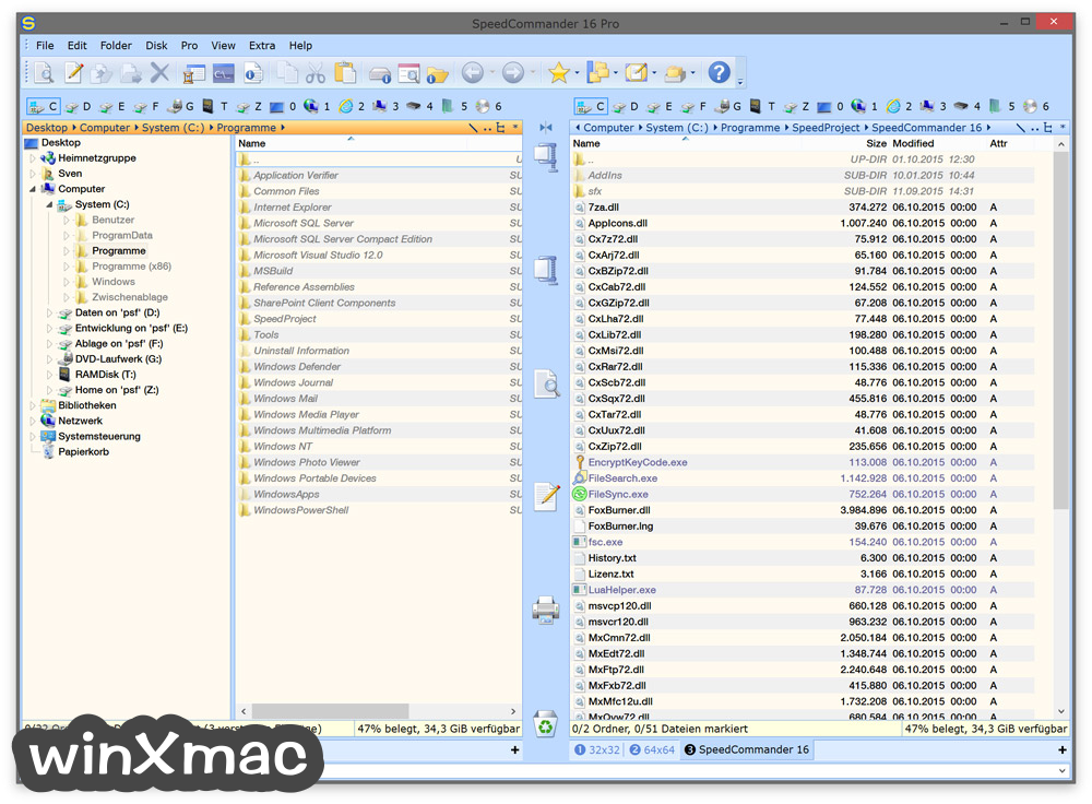 SpeedCommander (64-bit) Screenshot 1