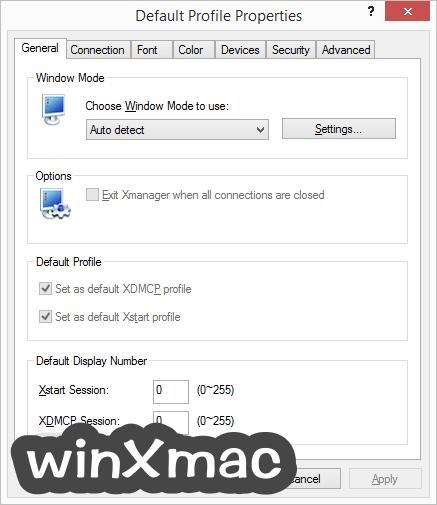 Xmanager Screenshot 5