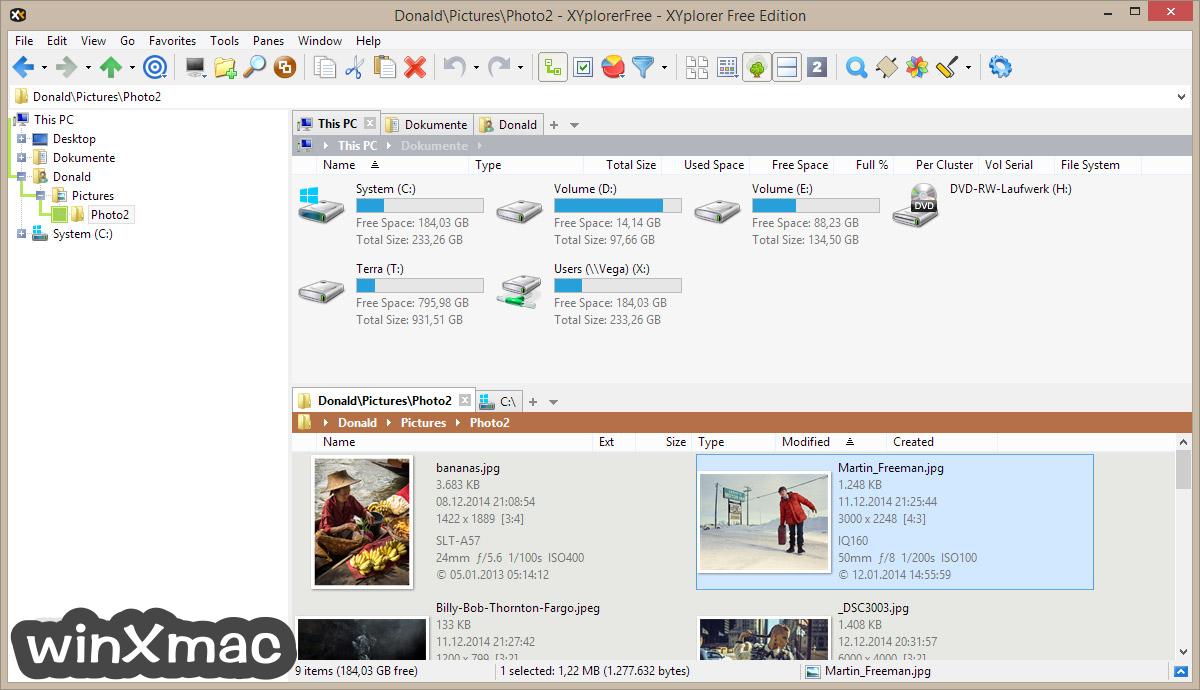 XYplorerFree Screenshot 1