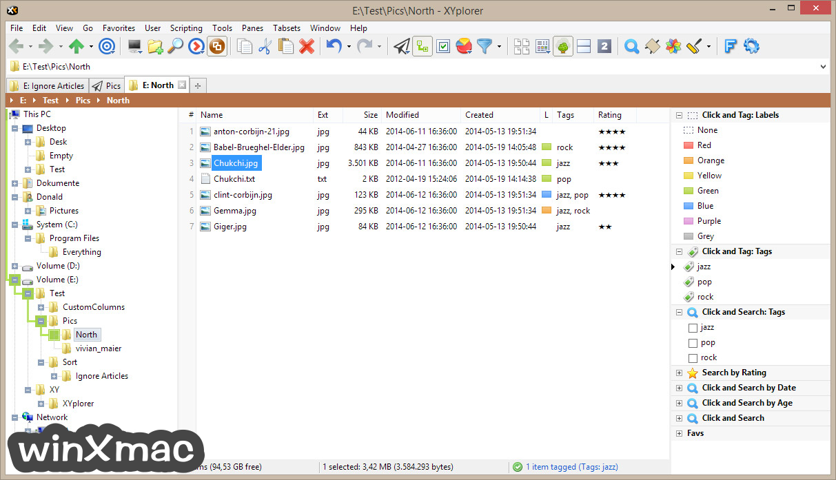 XYplorerFree Screenshot 3