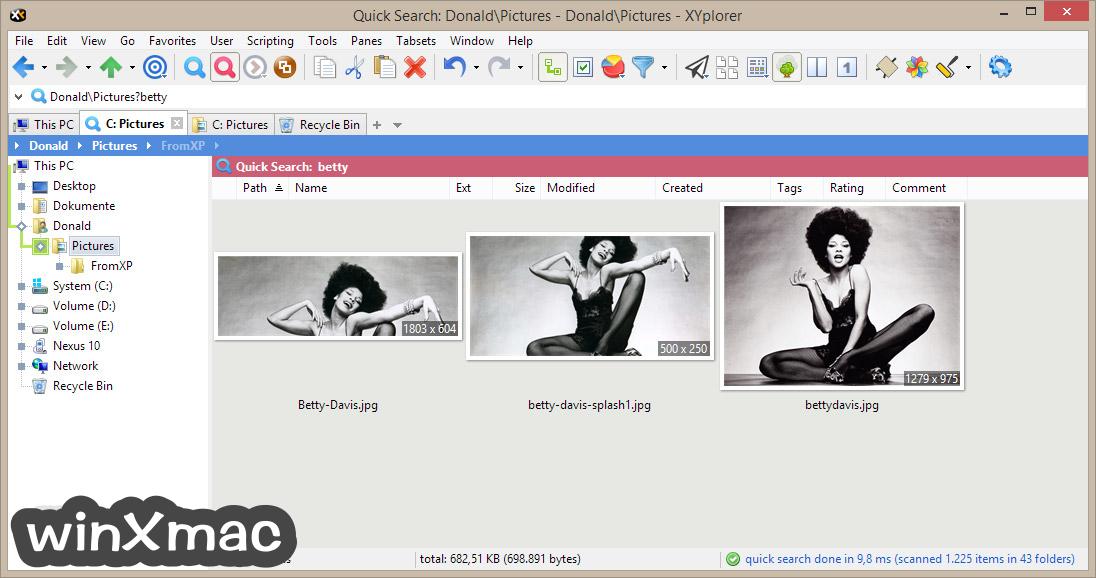 XYplorerFree Screenshot 4