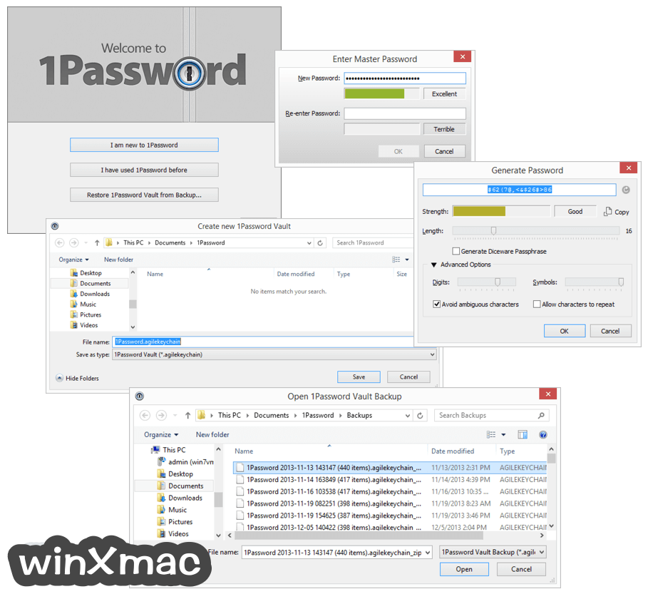 1Password for Windows Screenshot 2