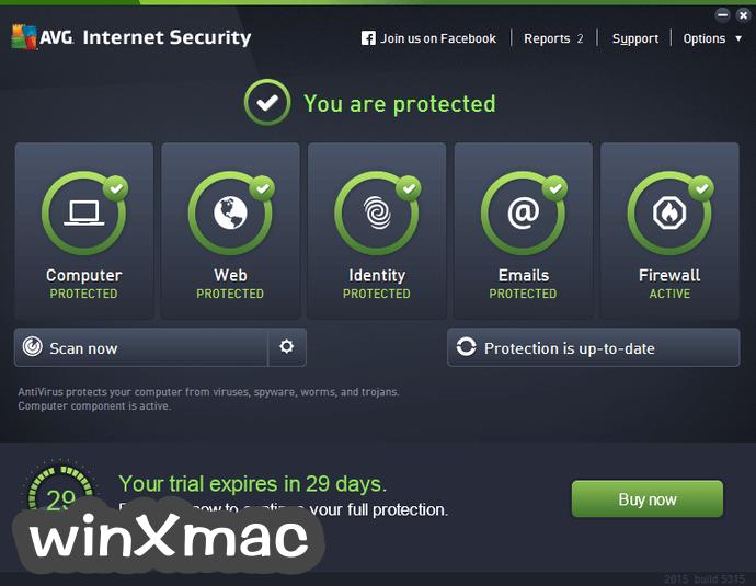 AVG Internet Security (64-bit) Screenshot 1