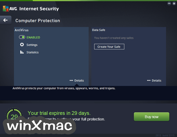 AVG Internet Security (64-bit) Screenshot 2