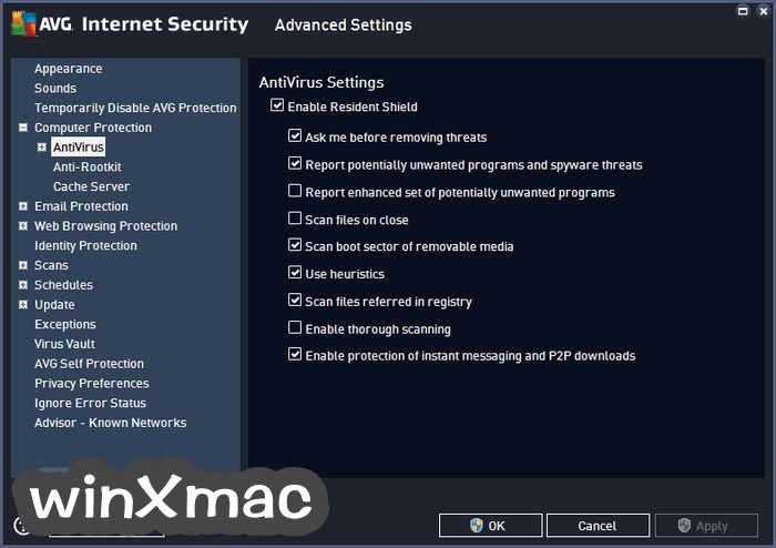 AVG Internet Security (64-bit) Screenshot 3