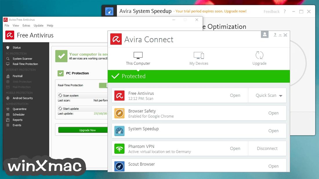 Avira Free Security Suite Screenshot 1
