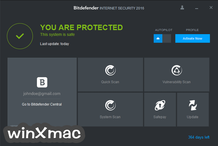 Bitdefender Internet Security (32-bit) Screenshot 1