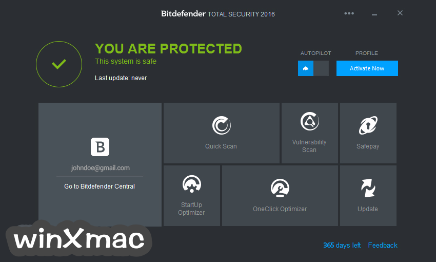 Bitdefender Total Security (64-bit) Screenshot 1