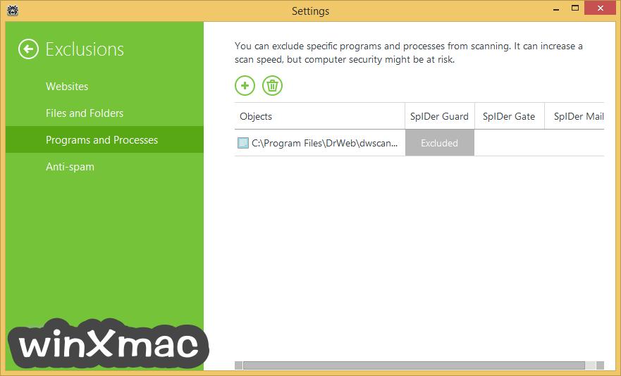 Dr.Web Security Space Screenshot 3