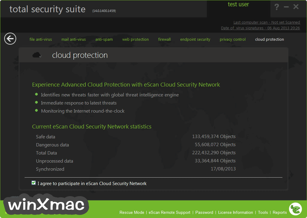 eScan Total Security Suite Screenshot 2