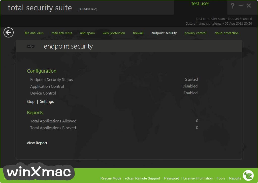 eScan Total Security Suite Screenshot 3
