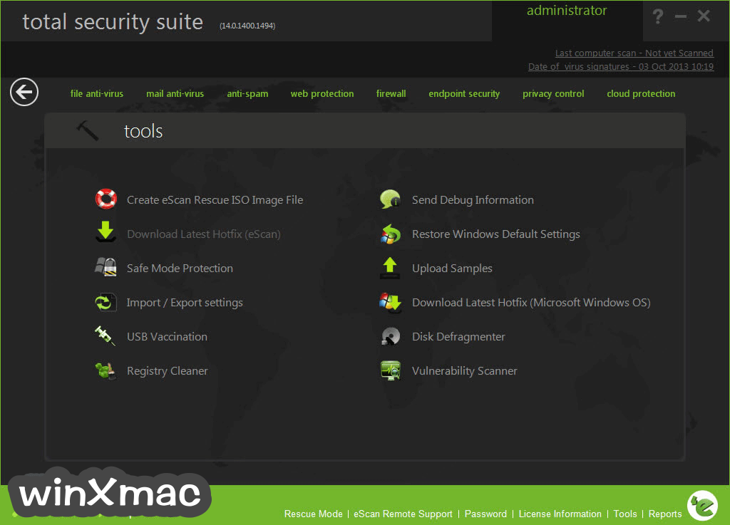 eScan Total Security Suite Screenshot 4