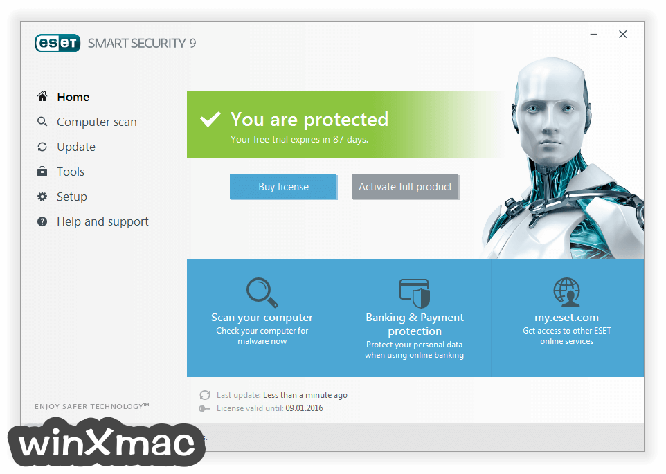 ESET Smart Security (64-bit) Screenshot 1
