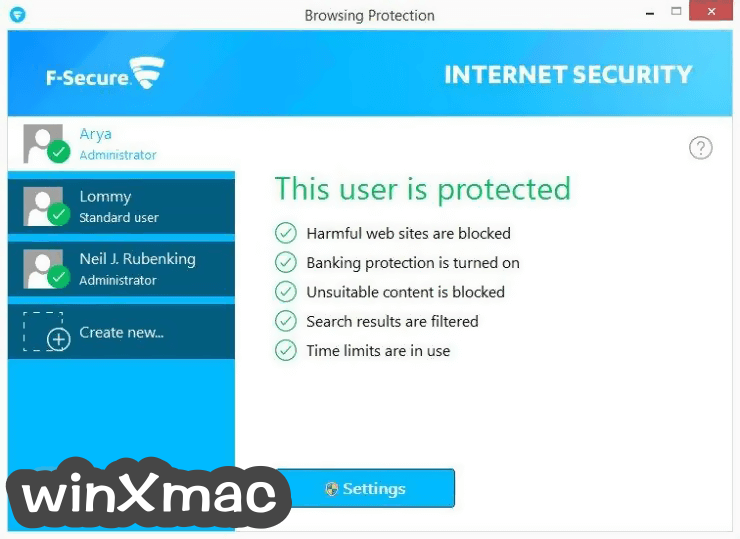 F-Secure Internet Security Screenshot 3