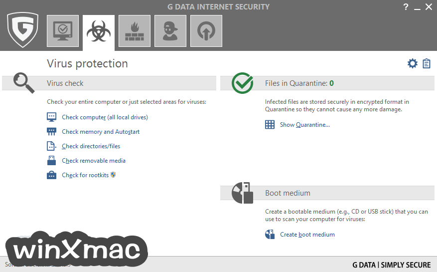 G DATA Internet Security Screenshot 2