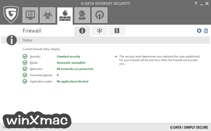 G DATA Internet Security Screenshot 3
