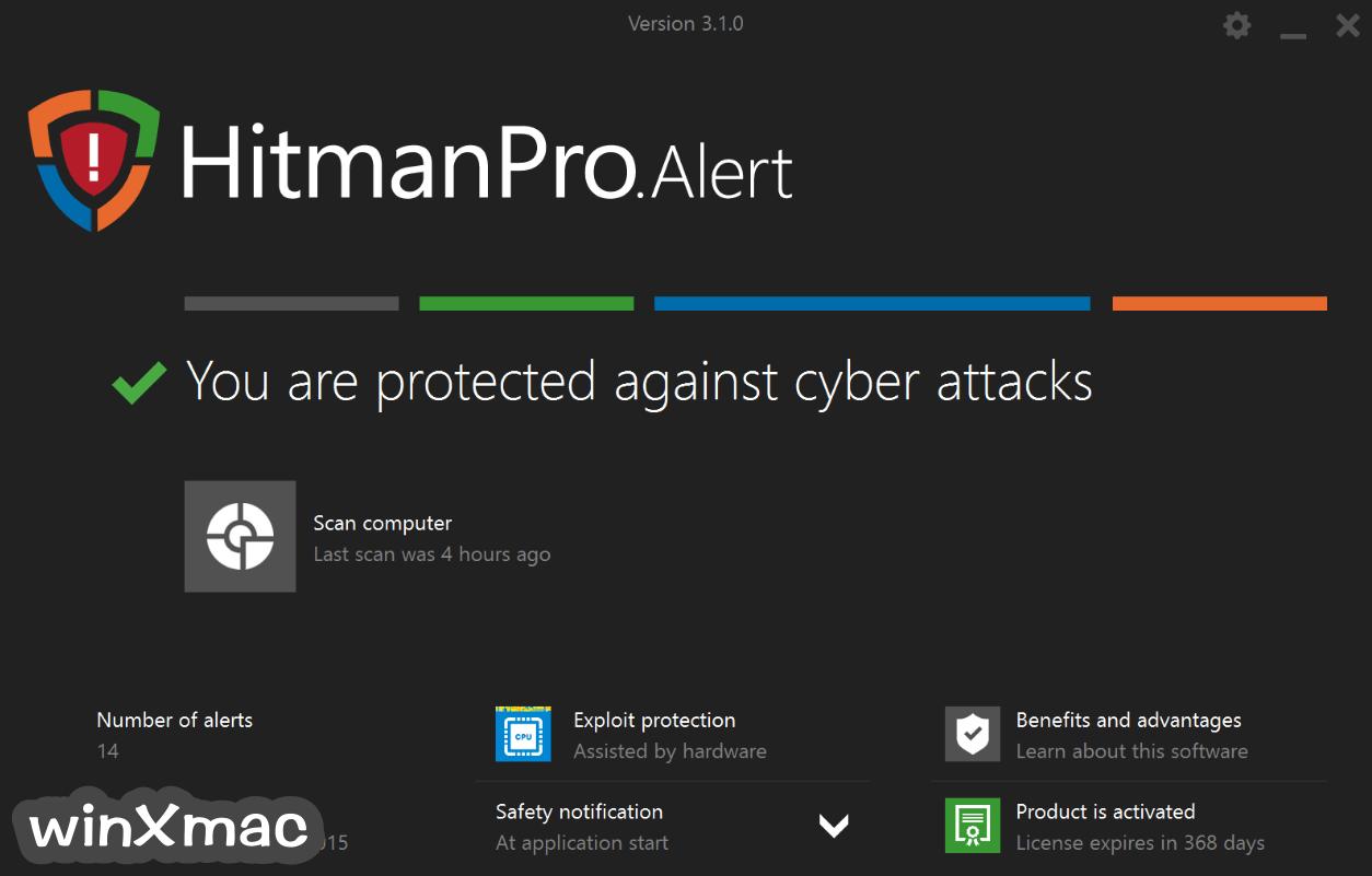 HitmanPro.Alert Screenshot 1