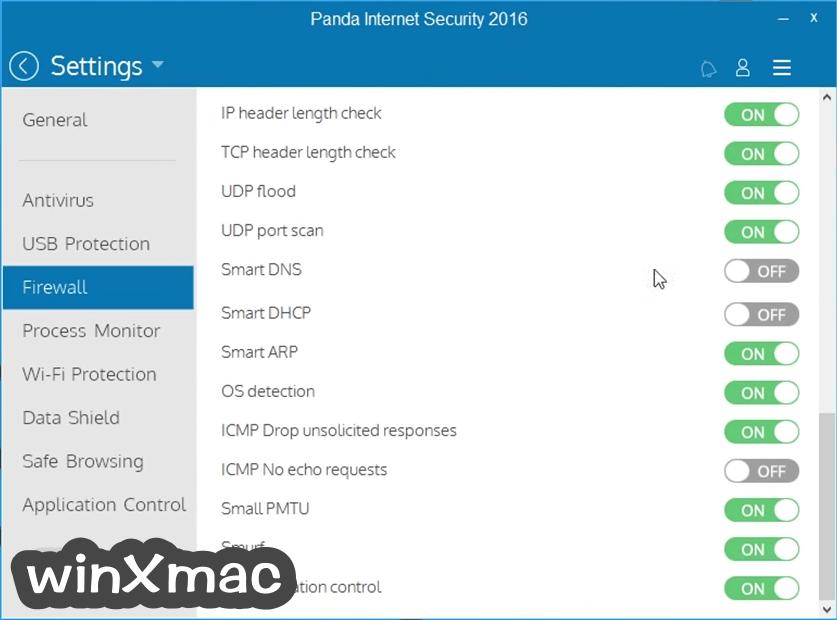Panda Internet Security Screenshot 5