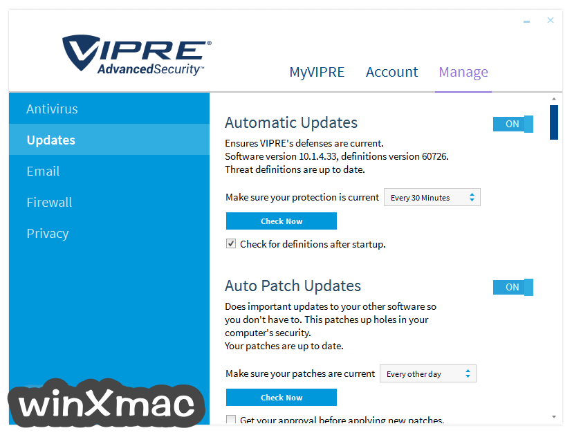 VIPRE Advanced Security Screenshot 3