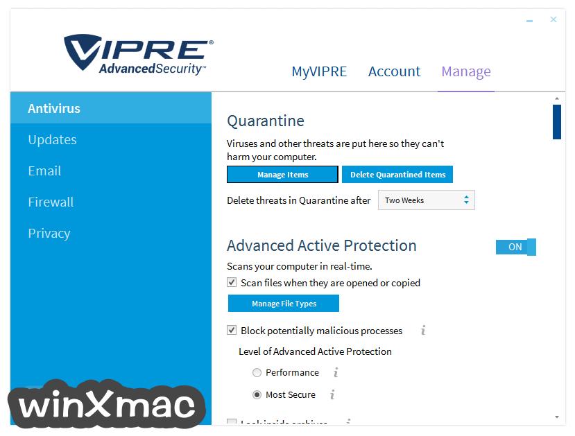 VIPRE Advanced Security Screenshot 5