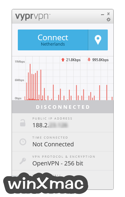 VyprVPN Screenshot 1