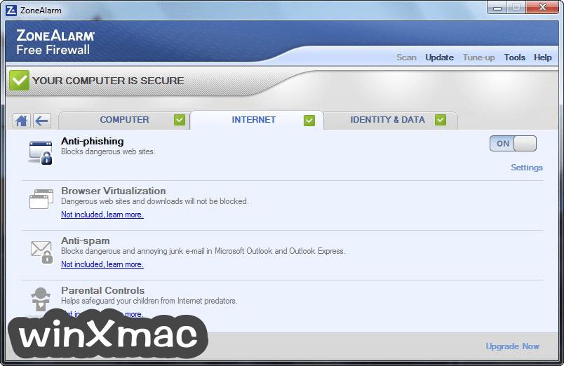 ZoneAlarm Free Firewall Screenshot 3