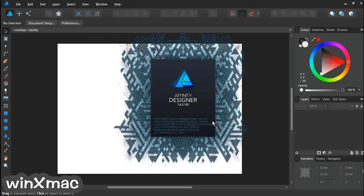 Affinity Designer Screenshot 1