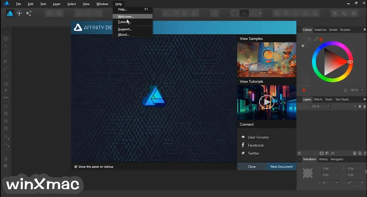 Affinity Designer Screenshot 2