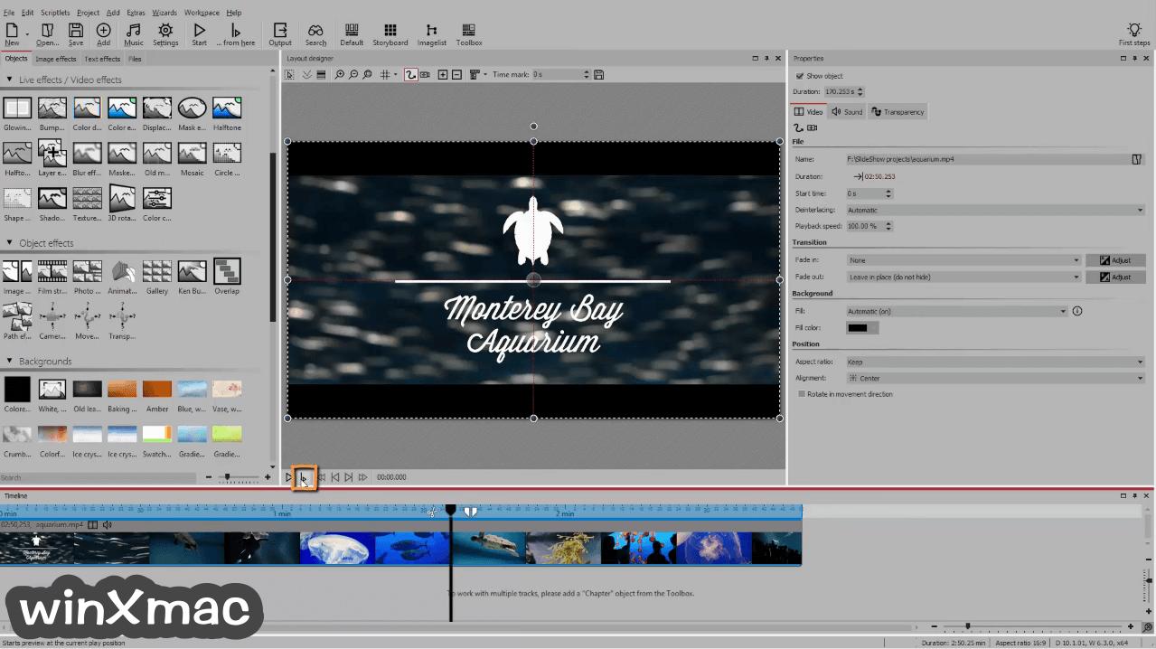 AquaSoft SlideShow Ultimate Screenshot 1