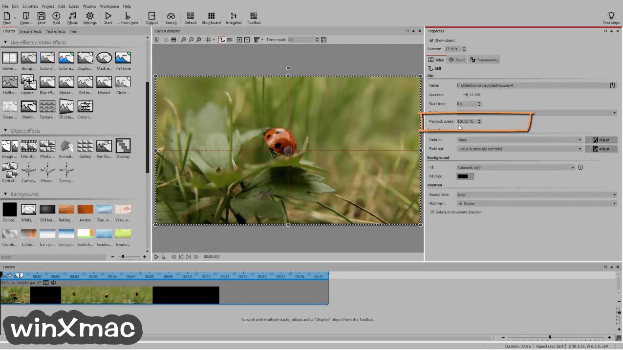 AquaSoft SlideShow Ultimate Screenshot 3
