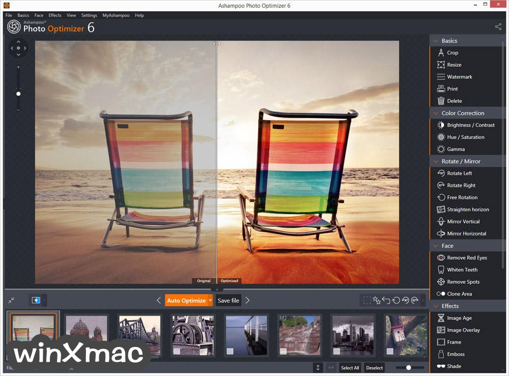 Ashampoo Photo Optimizer Screenshot 1