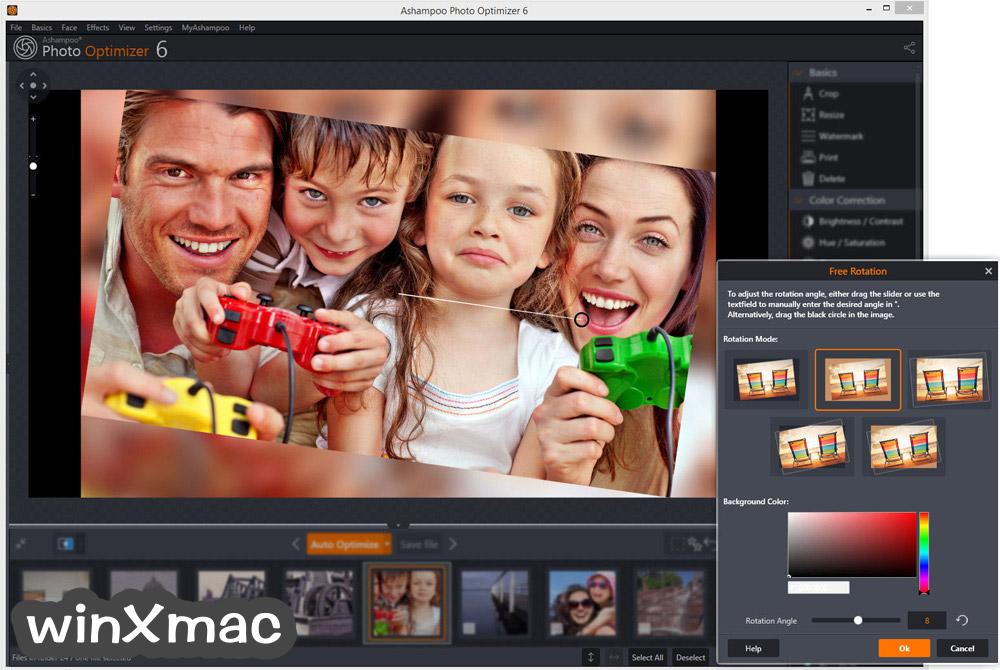 Ashampoo Photo Optimizer Screenshot 2