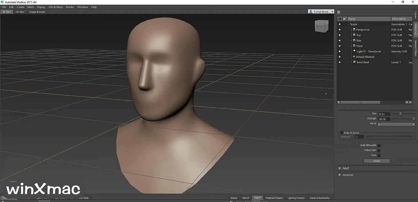 Autodesk Mudbox Screenshot 2