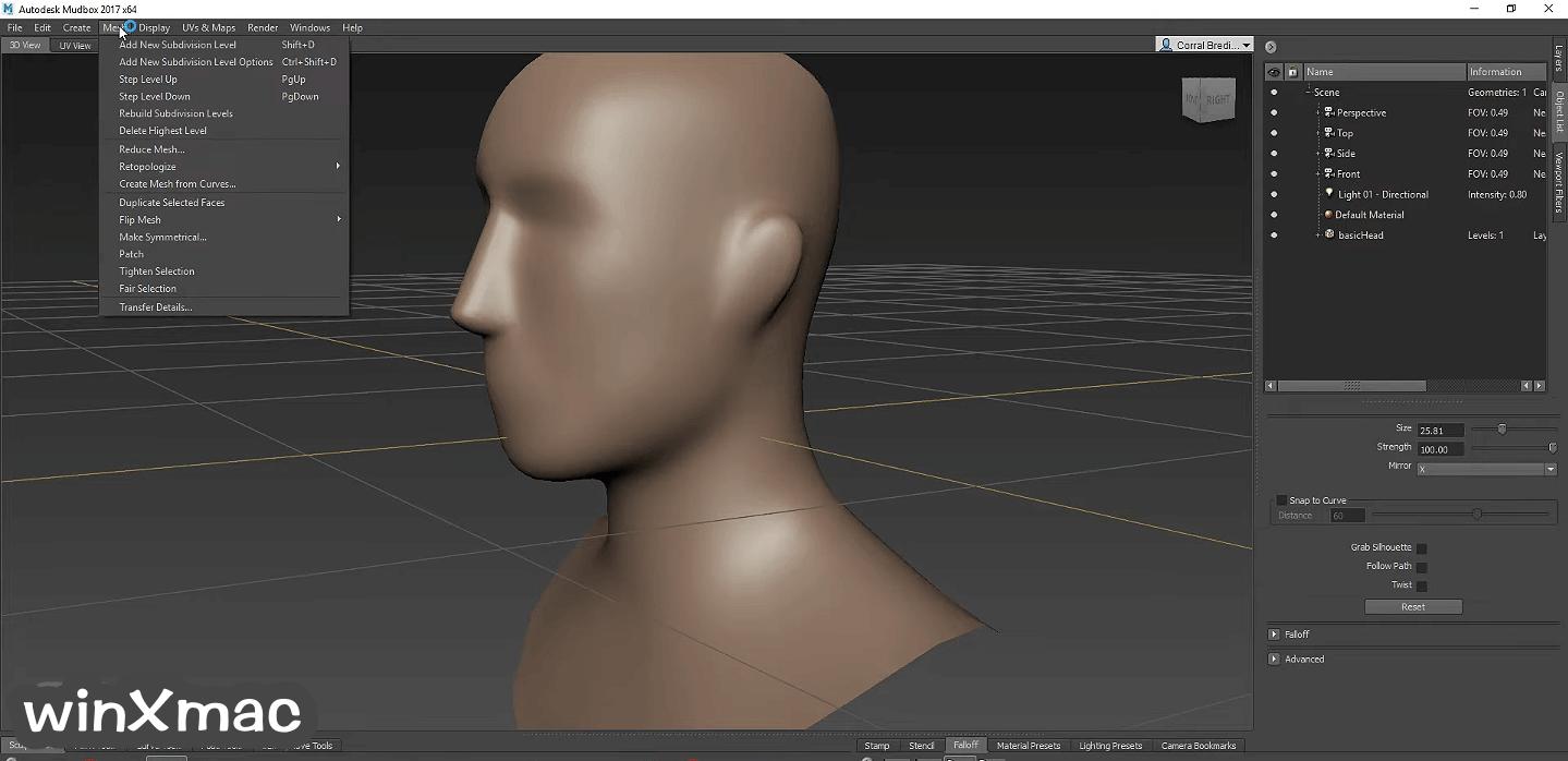 Autodesk Mudbox Screenshot 3