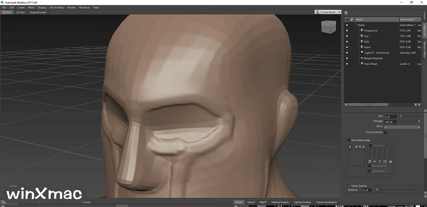 Autodesk Mudbox Screenshot 4