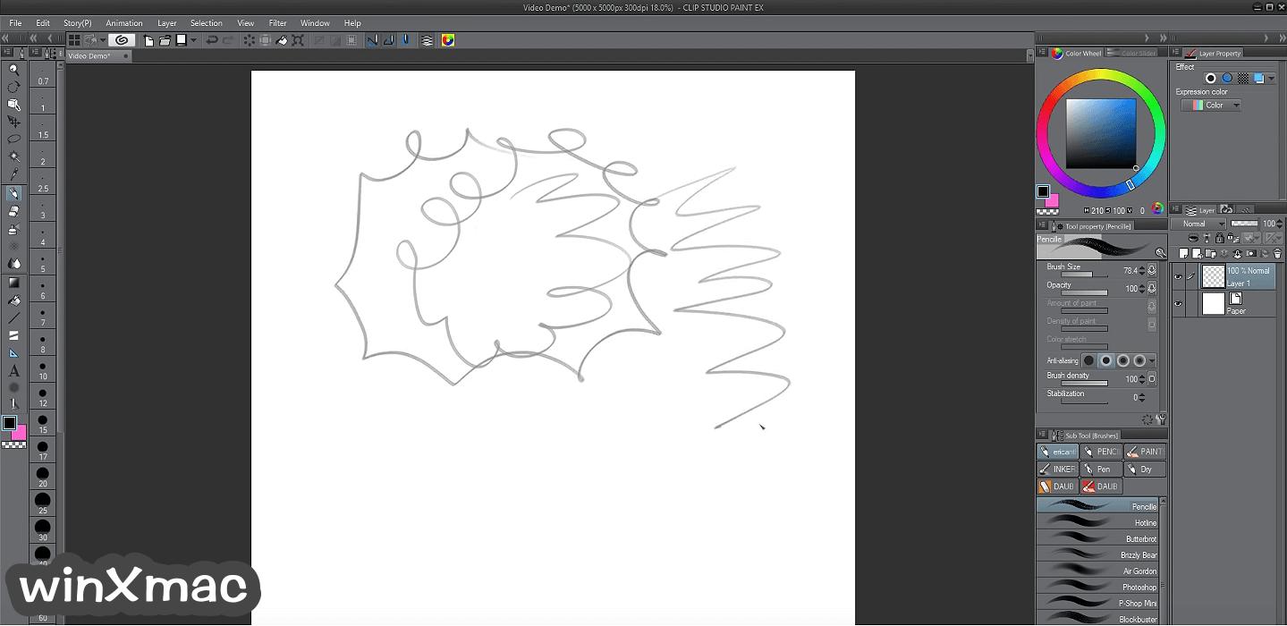 Clip Studio Paint EX Screenshot 2