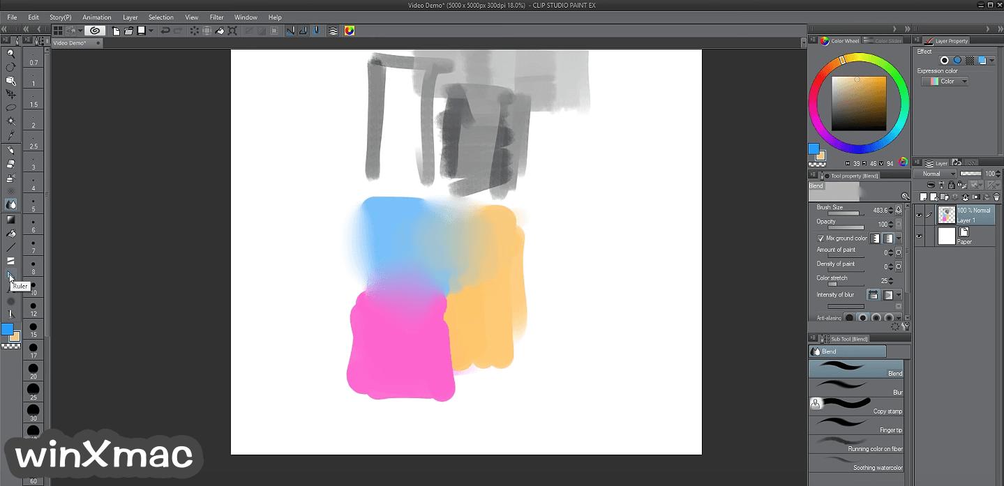Clip Studio Paint EX Screenshot 4