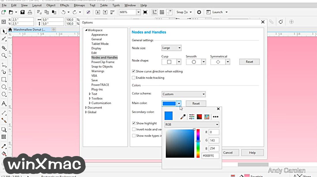 CorelDRAW Graphics Suite Screenshot 5