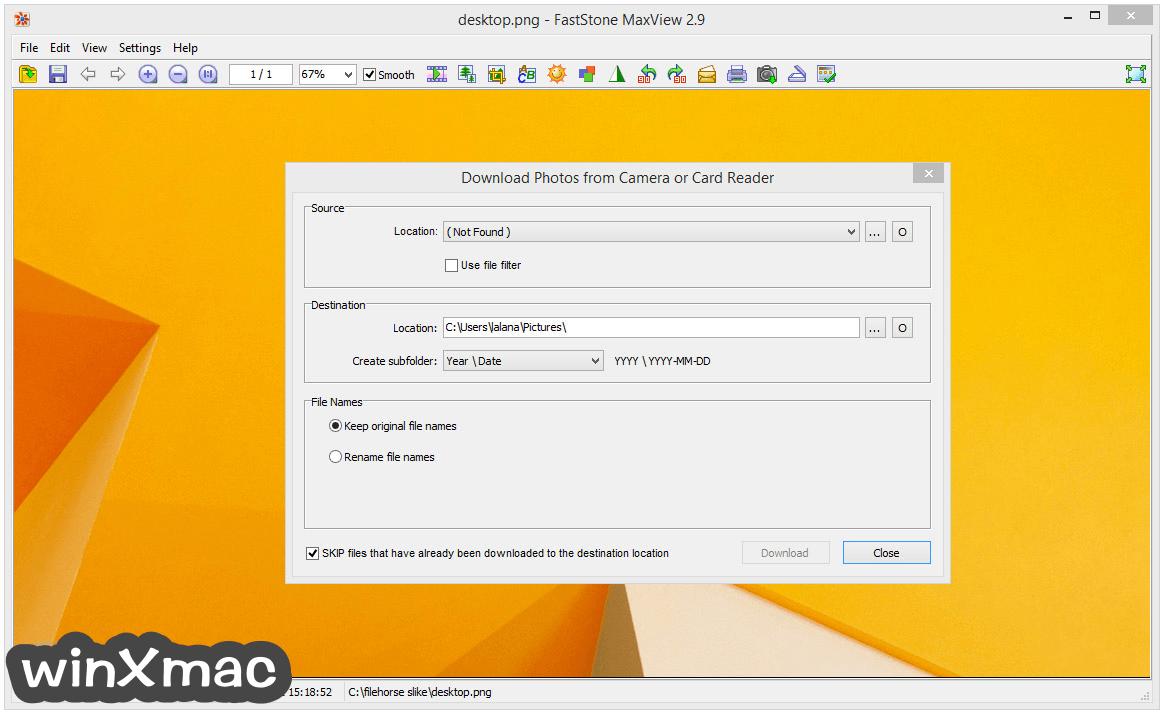 FastStone MaxView Screenshot 5