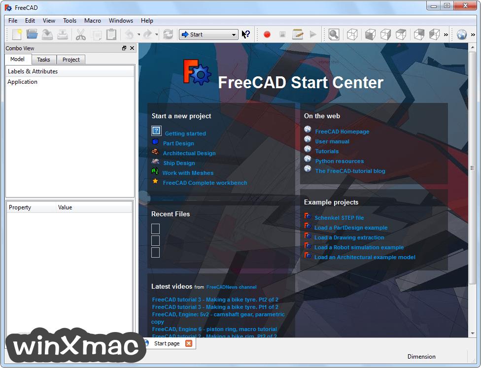FreeCAD (32-bit) Screenshot 1