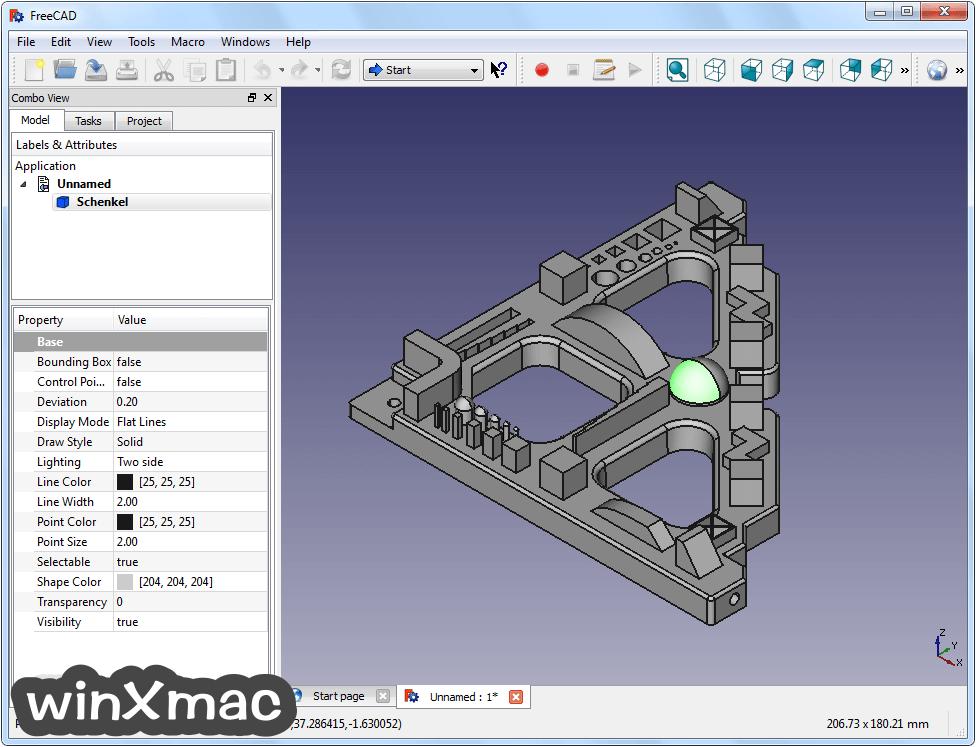 FreeCAD (32-bit) Screenshot 2