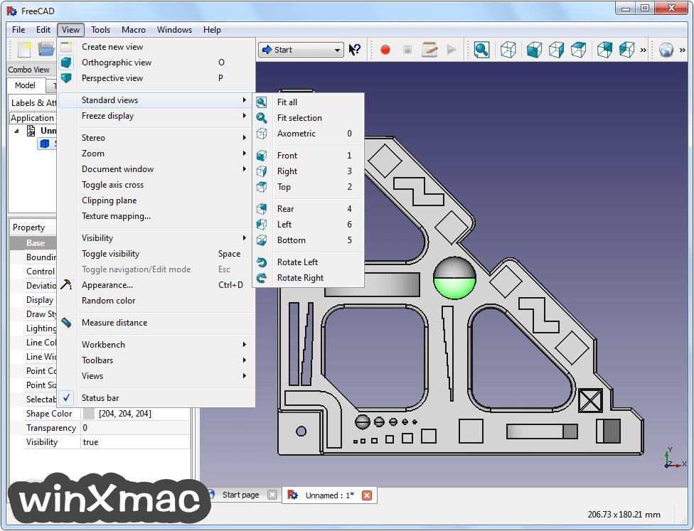 FreeCAD (32-bit) Screenshot 3