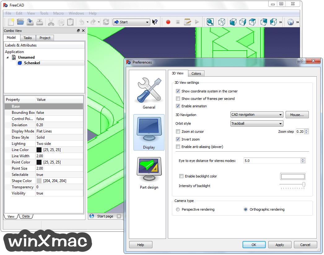 FreeCAD (32-bit) Screenshot 4