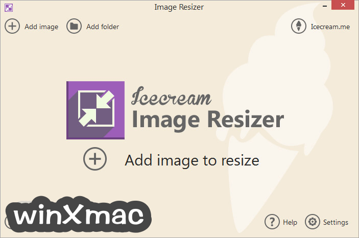 IceCream Image Resizer Screenshot 1