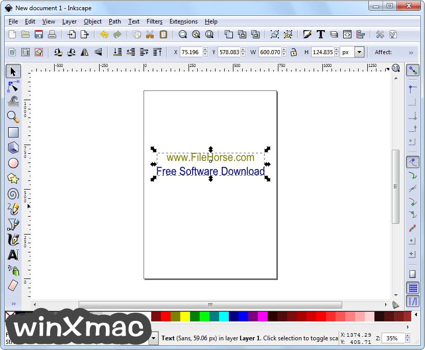 Inkscape (32-bit) Screenshot 1