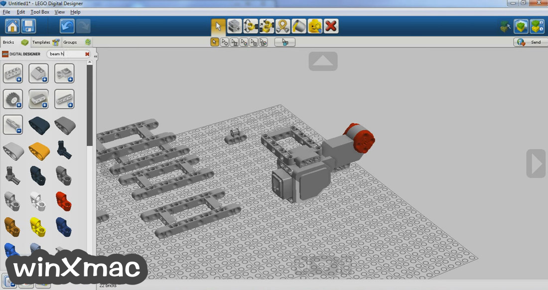 LEGO Digital Designer Screenshot 2