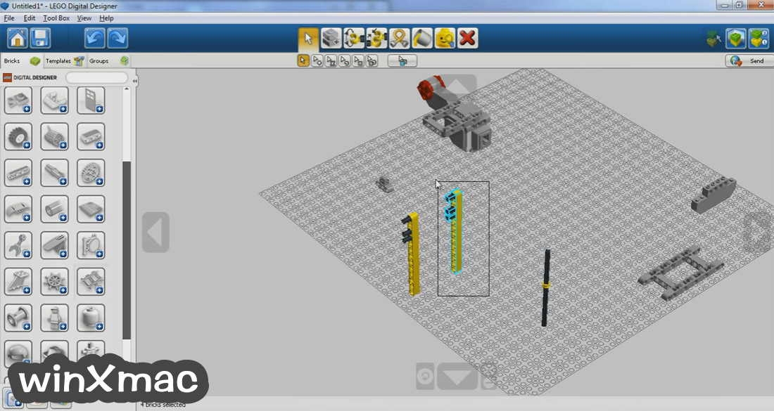 LEGO Digital Designer Screenshot 3