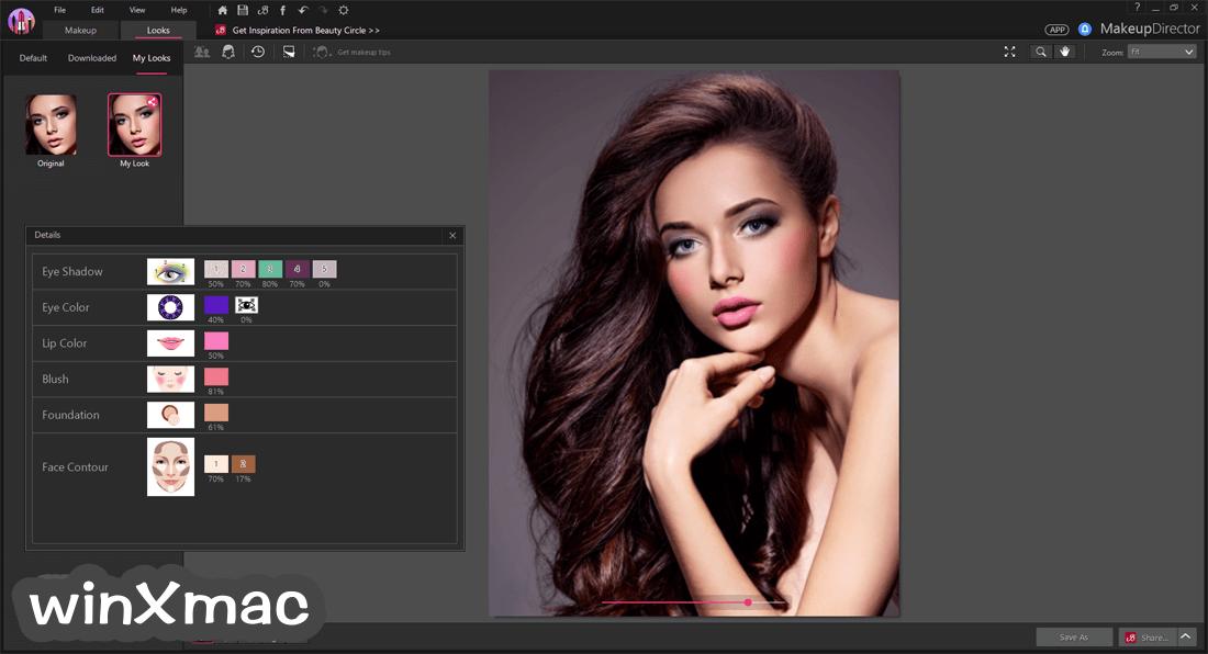 MakeupDirector Screenshot 5