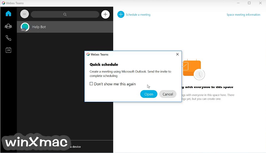 Cisco Webex Teams Screenshot 3