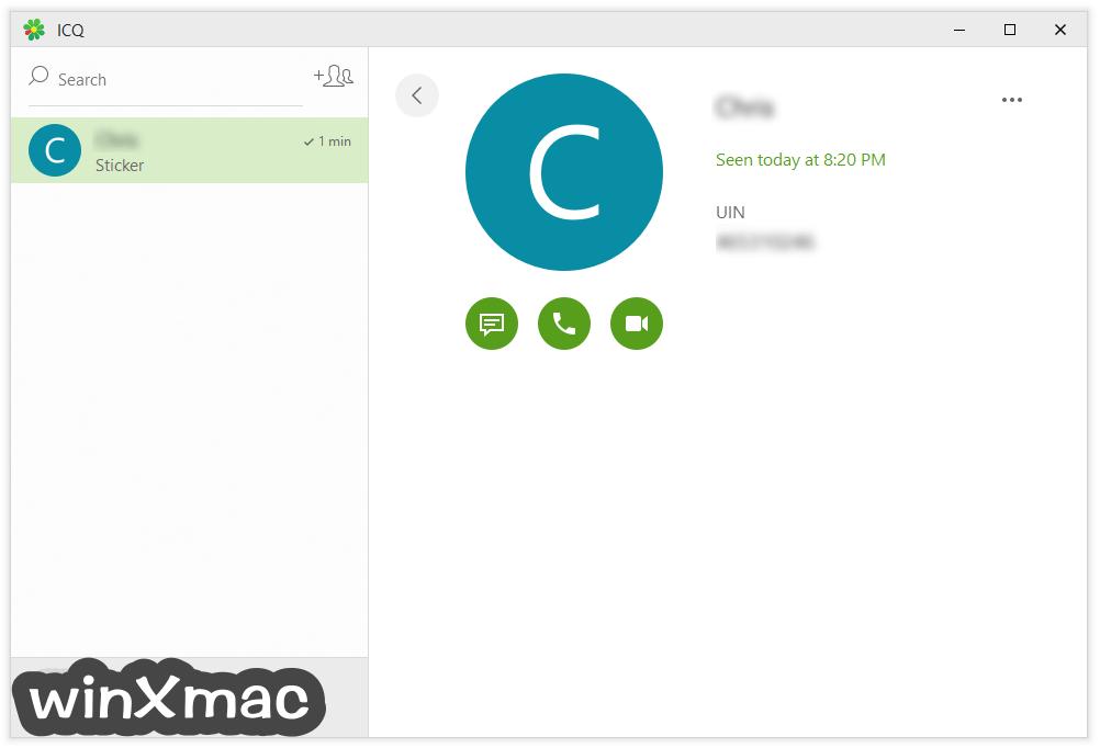 ICQ Screenshot 2